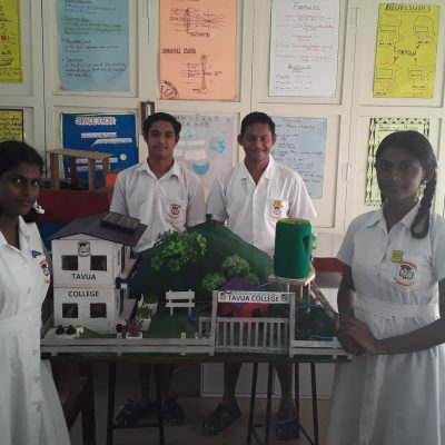 Shannon (of Year 12B), Darish (of Year 12D) , Praveet (of Year 12E) and Shivanjali (of Year 12B) participated in the model competition.